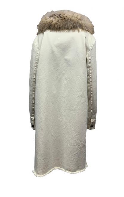 Parka Bazar Deluxe Bianco