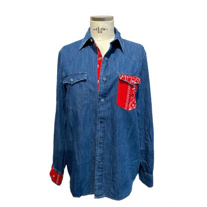 Camicia Jeans Re-Worked